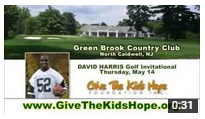 2015 David Harris Golf Invitational for Give the Kids Hope Foundation