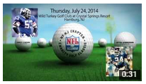 NFL Alumni Association to Support Local Charities at July 24 Golf Outing