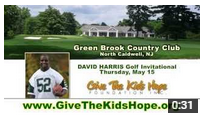 2014 David Harris Golf Invitational to Benefit Give the Kids Hope Foundation