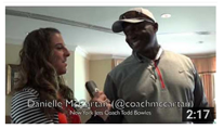 Danielle McCartan and Todd Bowles